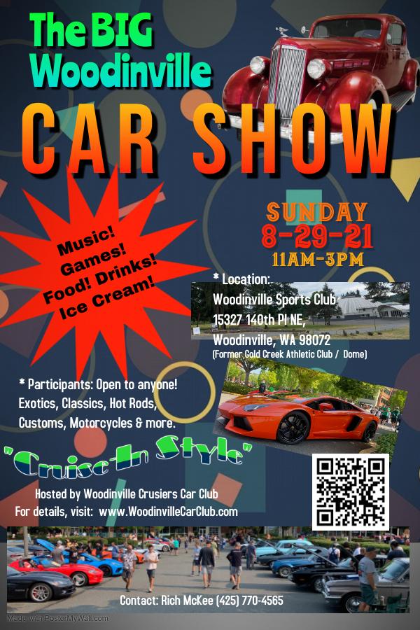 WCCC Car Show 8.29.21 Flier